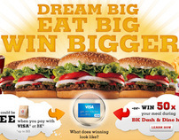 Burger King Dash n'Dine