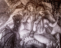 There, where the mermaids sing...