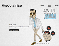 Socialrise's team illustrations