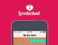 Love Locked Branding and App Design