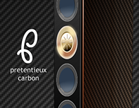 """Pretentieux Carbon"" speaker design"