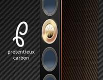"""""""Pretentieux Carbon"""" speaker design"""