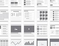 Web Sitemap & Flowchart Tiles
