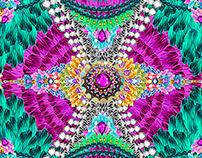 Textile Pattern Print Spring  2015