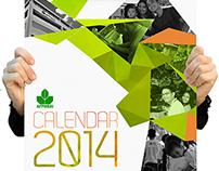Wall Calendar 2014