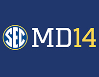 2014 SEC Football Media Days Posters