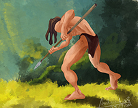 Disney's Tarzan | Digital painting