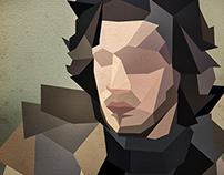 Game of Thrones Polygon Portraits