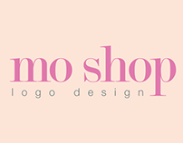 Mo Shop Logo Design