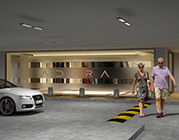 LIFT LOBBY ADERA COMPOUND PROJECT