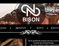 Bison restaurant (webpage)