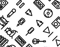 36 Music Icons Freebie