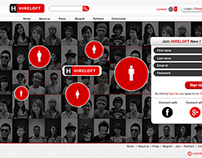 Social Media Concept Website Design