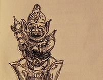 Travel Sketches: Bali