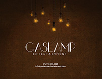 Gas Lamp Entertainment Website