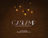 Gas Lamp Entertainment Website