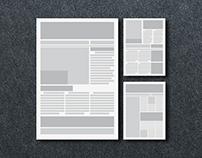 EDITORIAL DESIGN   BROCHURES, MAGAZINE & MORE