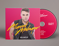 Miguel Málagar - CD Album Packaging