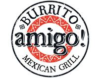 Burrito Amigo Logo Design and Menu Design