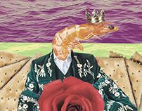 El camarón - Collage