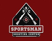 Gun sport logo design