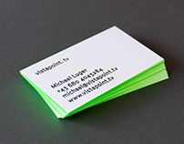 vistapoint.tv — Business Cards