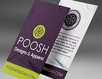 POOSH Hang-tags