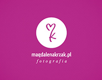 Logotype for magdalenakrzak.pl