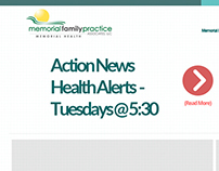 ActionNews Health Alert Page Redesign