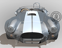 Racing Shelby Cobra 3D Model