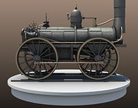 1831 DeWitt Clinton Locomotive