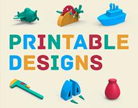 3D Printable Designs