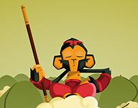 Ilustración Monky
