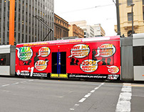 Metro Holden - Mega Side Tram Artwork