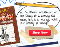 Scholastic Book Fairs Banner Ads
