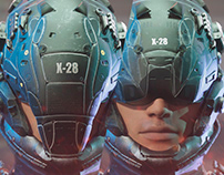 Armor x-28 Zbrush Oscar Creativo