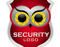 Illustration for security company logo