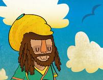 Viernes de Ilustración: Tropical