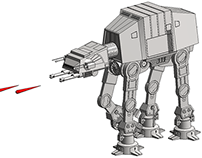 Star Wars AT-AT Revit Family
