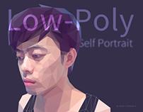 Low-Poly Self Portrait
