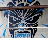 Murales Maori Crossfit
