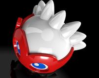 Brilliant Bao Bao - ROC mascot / 3D MODELING
