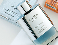ZARA Denim Couture