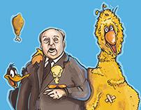 Alfred Hitchcock& kfc