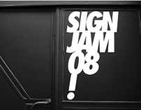SignJam 08.