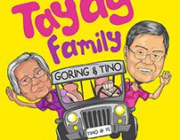 Tayag Family Shirt Design