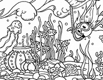 Childrens Coloring Book Pages