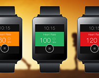 Samsung smart watch - Heart rating