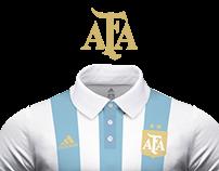 Argentina's kit - Adidas