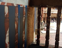 Shakespeare's Globe decorative panels